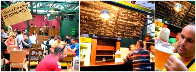 """Eleszto"" el lugar donde tomar cervezas artesanales en Budapest."