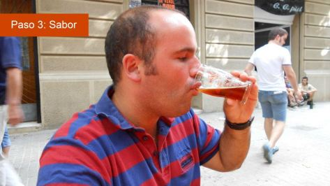 paso 3 cata de cervezas