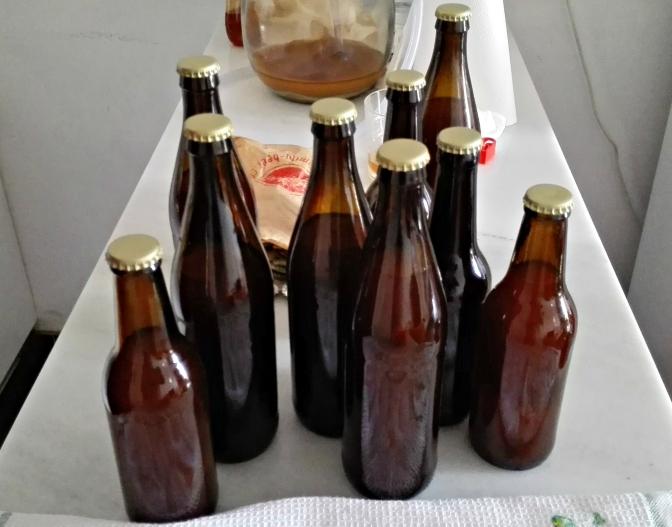 Mi primera Cerveza II , envasado.